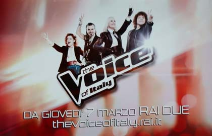 The Voice of Italy promo