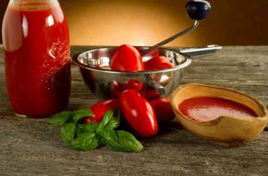 geconserveerde tomaten