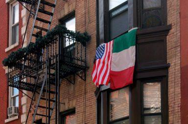 Little Italy: de Amerikaanse pizza New York vindt zijn oorsprong in Napels, Italië