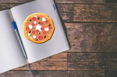 Houd eens een pizzadagboek bij, dat vermindert pizzafouten!